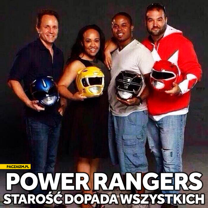 Starzy Power Rangers