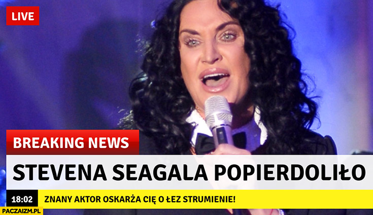 Stevena Seagala popierdzieliło Kayah breaking news
