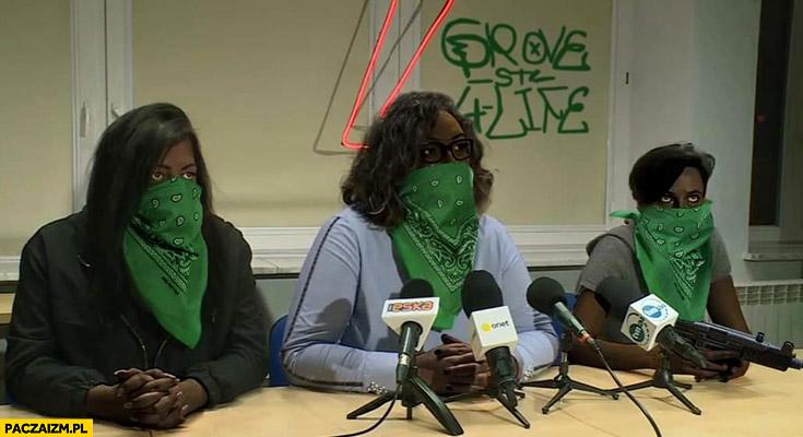 Strajk kobiet Lempart GTA Grand Theft Auto przeróbka groove street 4 life