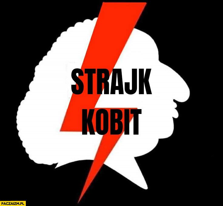 Strajk kobit Marta Lempart logo przeróbka