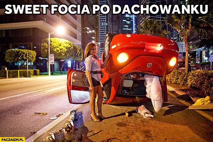 Sweet focia po dachowanku