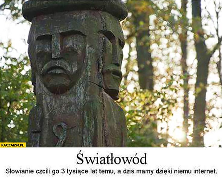 Światłowód Słowianie czcili go 3 tysiące lat temu, a dziś mamy dzięki niemu internet Światowid