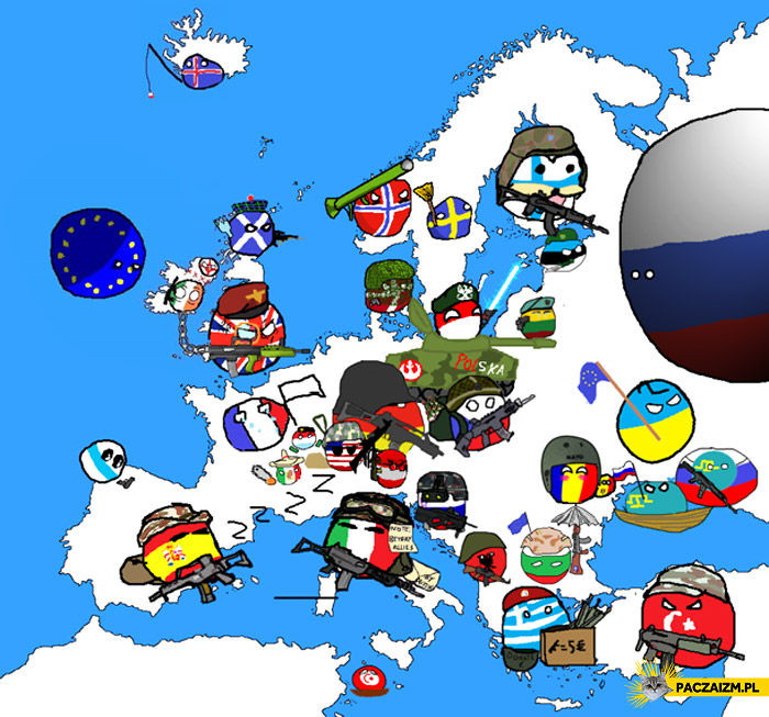 Sytuacja na świecie polandball