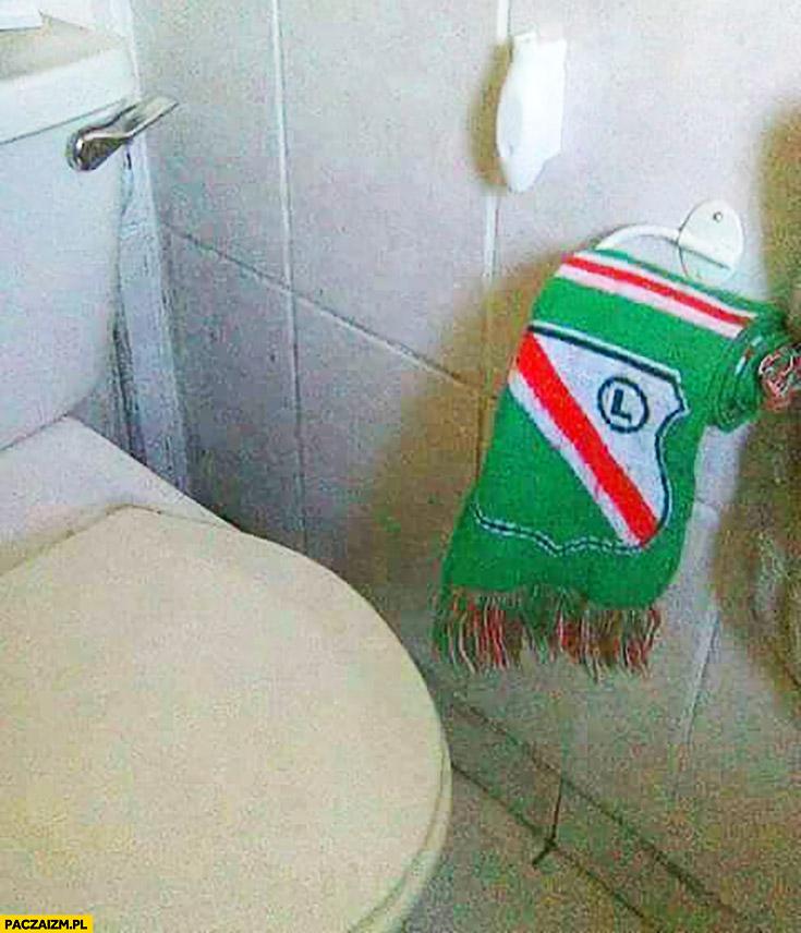 Szalik Legii papier toaletowy Legia Warszawa