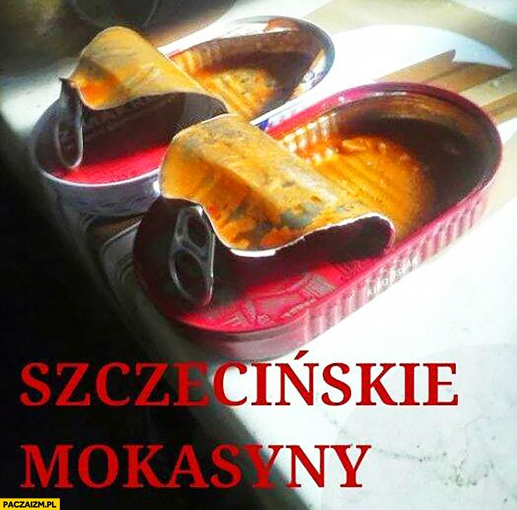 Szczecińskie mokasyny konserwy