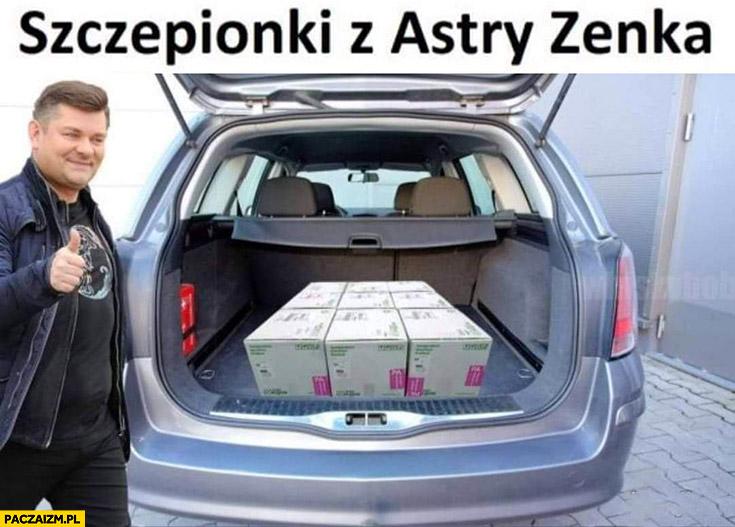 Szczepionki z Astry Zenka Martyniuk Astrazeneca