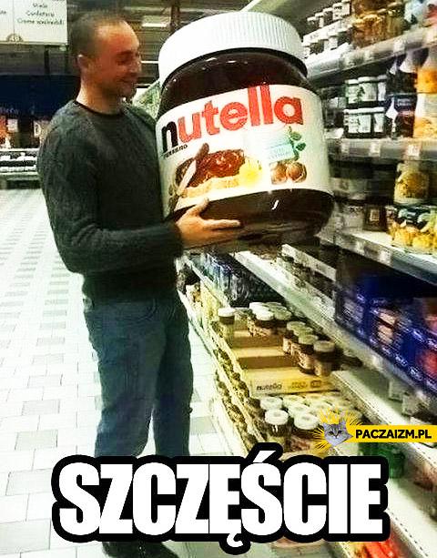 Szczęście Nutella