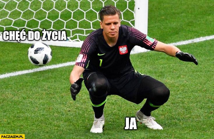 Szczęsny wpuszcza bramkę chęć do życia, ja. Mecz Polska Senegal