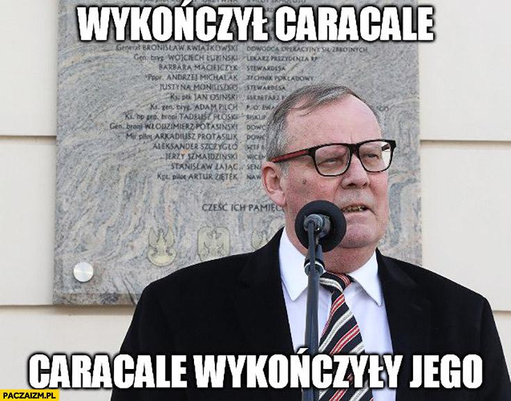 Szef komisji Macierewicza wykończył Caracale ale Caracale wykończyły jego