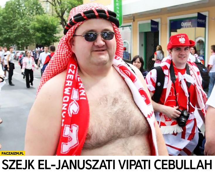 Szejk el Januszati Vipati Cebullah Polak na Euro