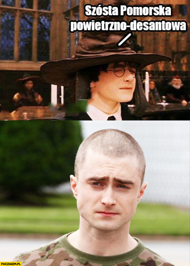 Szósta pomorska powietrzno-desantowa Harry Potter Daniel Radcliffe