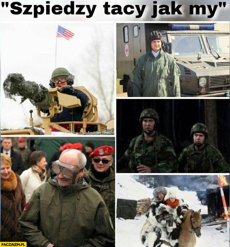 Szpiedzy tacy jak my Duda Kaczyński Misiewicz