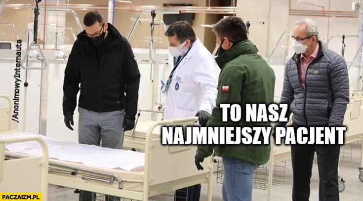 Szpital narodowy to nasz najmniejszy pacjent Morawiecki