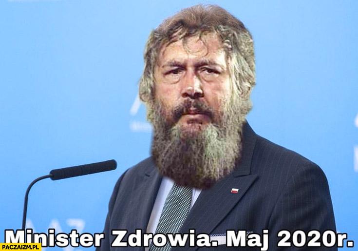 Szumowski Minister Zdrowia maj 2020 Znachor przeróbka