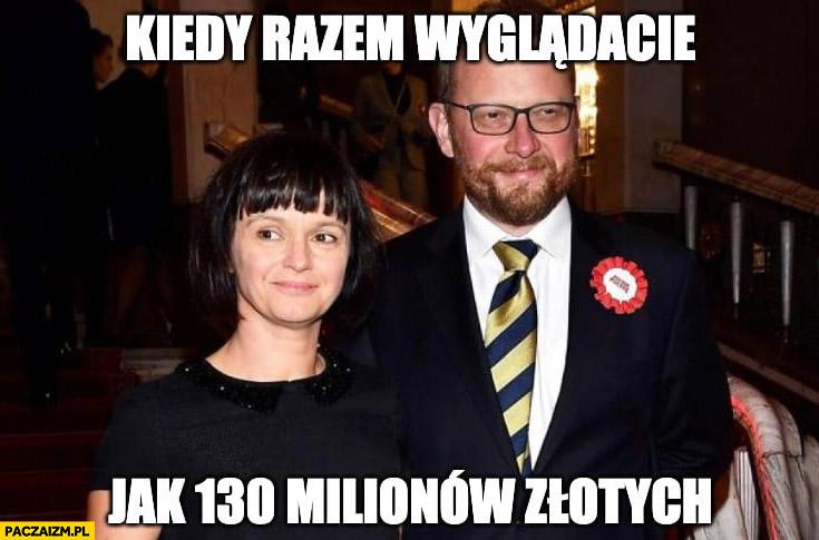 Szumowski z żoną kiedy razem wyglądacie jak 130 milionów złotych