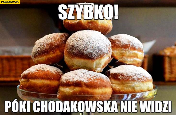 Szybko póki Chodakowska nie widzi paczki