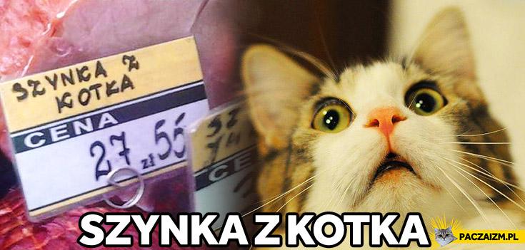 Szynka z kotka