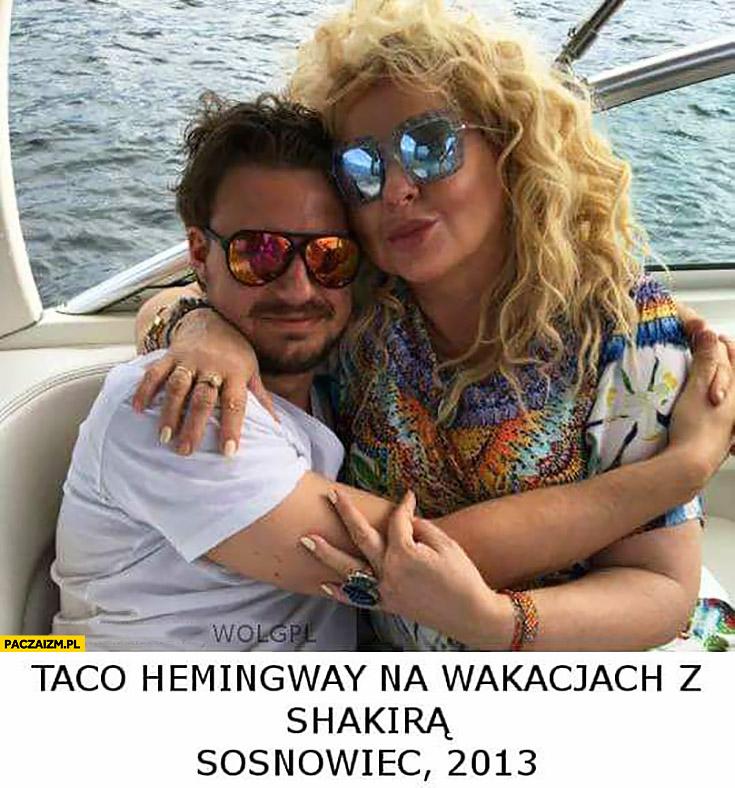 Taco Hemingway na wakacjach z Shakirą, Sosnowiec 2013