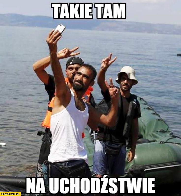 Takie tam na uchodźstwie imigranci selfie