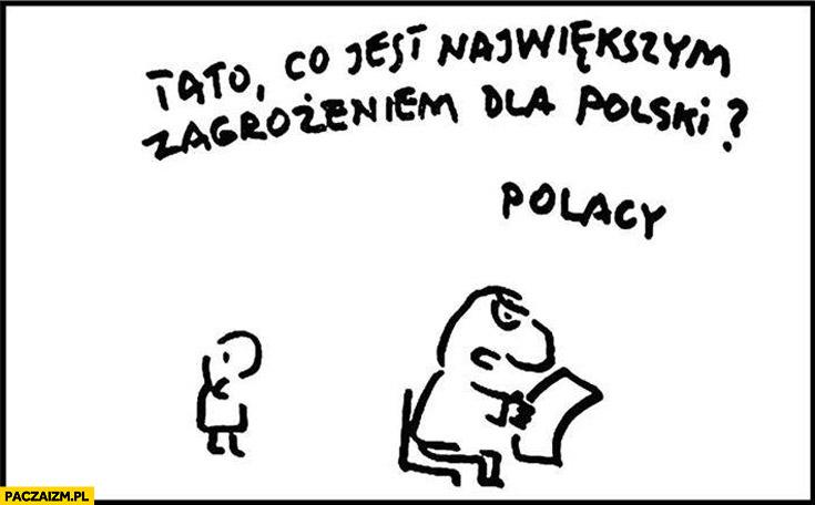 Tato co jest największym zagrożeniem dla Polski? Polacy