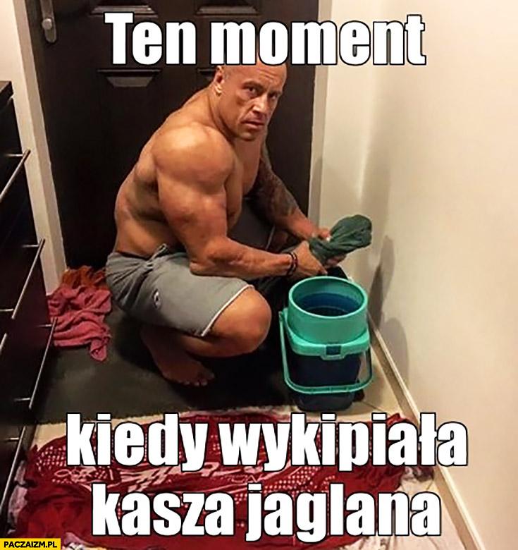 Ten moment kiedy wykipiała kasza jaglana Michał Karmowski