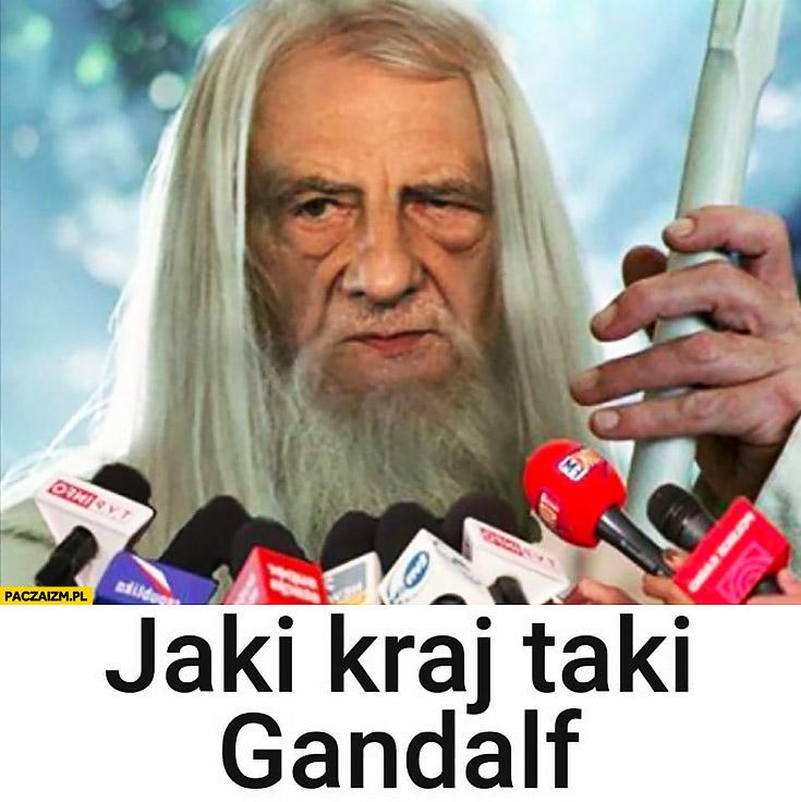 Terlecki jaki kraj taki Gandalf PiS
