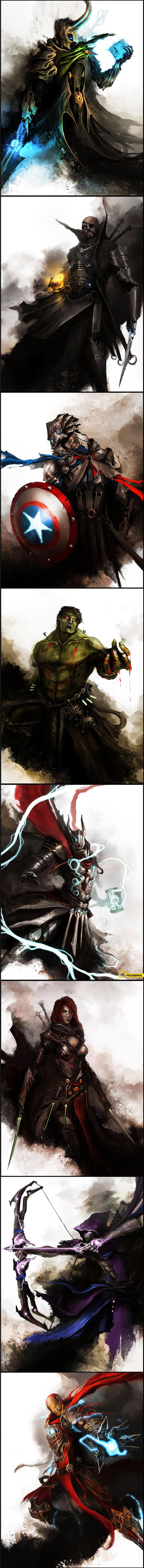 The Avengers ze średniowiecza