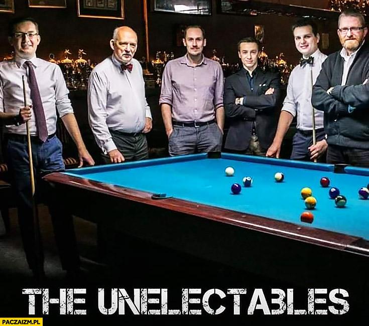 The Unelectables niewybieralni politycy prawicy Winnicki, Korwin, Berkowicz, Bosak, Kulesza, Braun