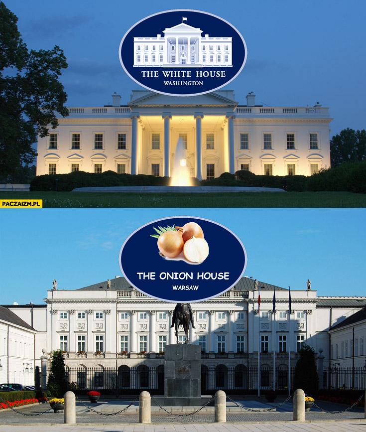 The white house, the onion house Warszawa