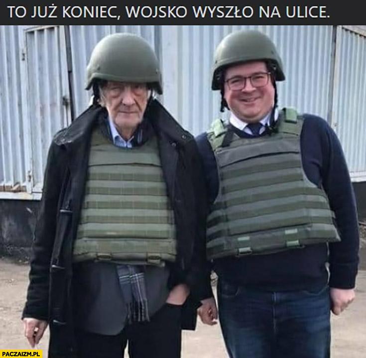 To już koniec wojsko wyszło na ulicę Terlikowski Rzymkowski