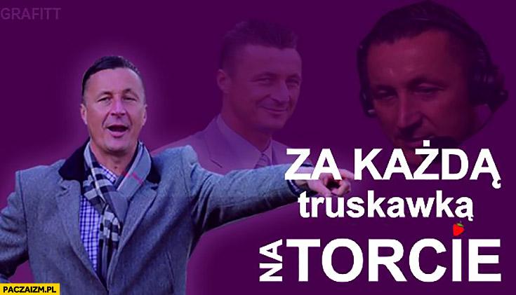Tomasz Hajto za każdą truskawką na torcie partia Razem