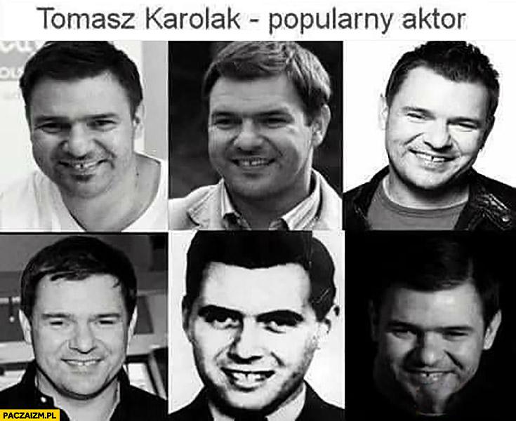 Tomasz Karolak popularny aktor doktor Mengele