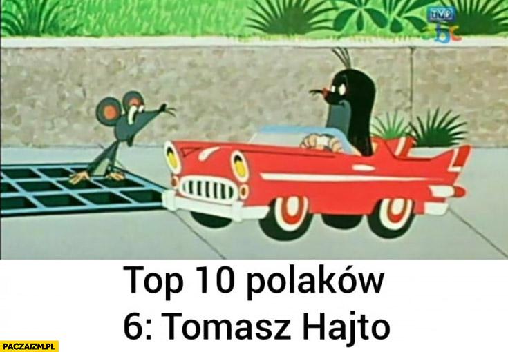Top 10 Polaków: Tomasz Hajto rozjeżdża babę na pasach Krecik