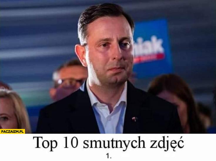 Top 10 smutnych zdjęć Władysław Kosiniak-Kamysz po wyborach