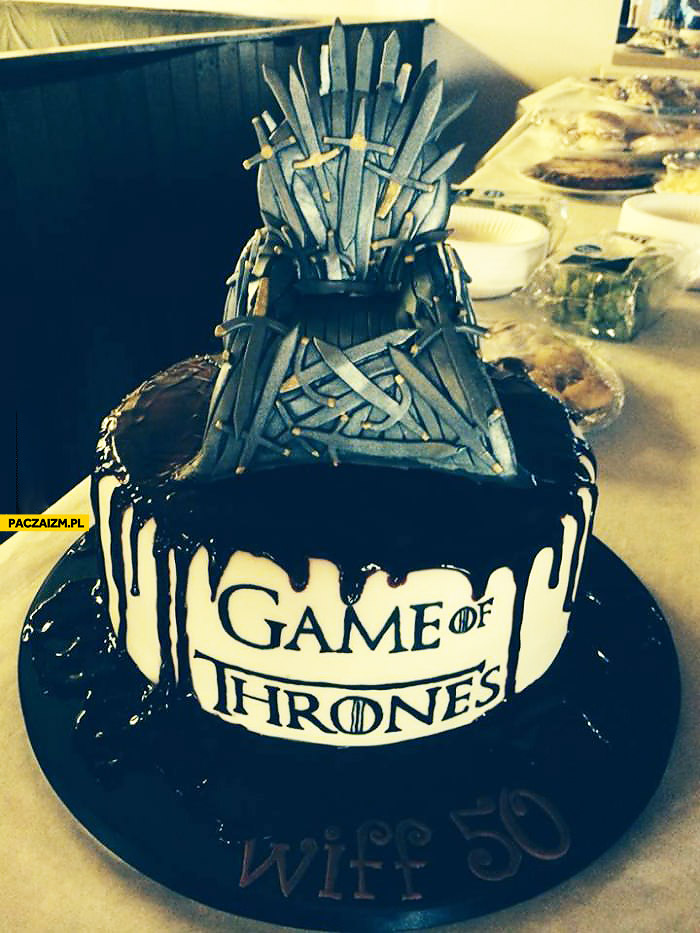 Tort Gra o tron Game of thrones