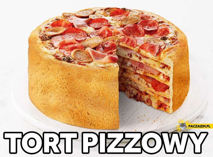 Tort pizzowy