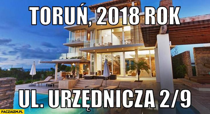 Toruń rok 2018 ul. Urzędnicza 2/9 Daniel Magical piękny dom