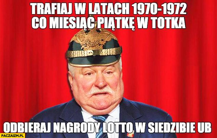 Trafiaj co miesiąc piątkę w totka odbieraj nagrody w siedzibie UB Lech Wałęsa