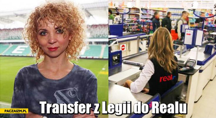 Transfer z Legii do Realu