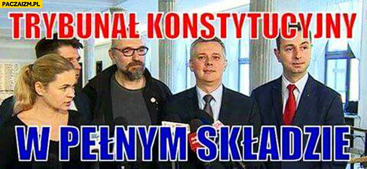 Trybunał Konstytucyjny w pełnym składzie Petru Kijowski Nowacka