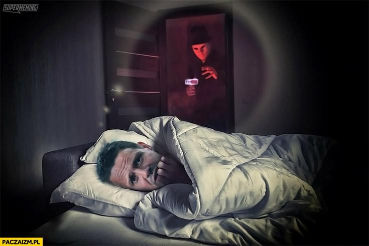 Trzaskowski śpi nie może spać bo boi się debili z TVP Info