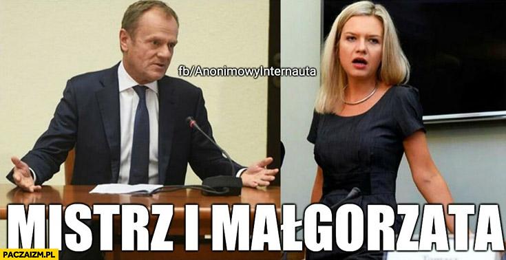 Tusk Wassermann Mistrz i Małgorzata przesłuchanie w komisji śledczej Anonimowy internauta