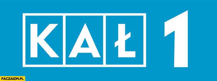 TVP 1 logo KAŁ przeróbka