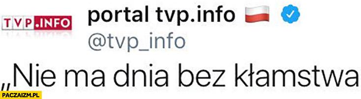 TVP Info nie ma dnia bez kłamstwa