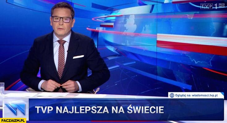 TVP najlepsza na świecie pasek wiadomości TVPiS