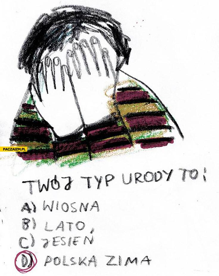 Twój typ urody polska zima