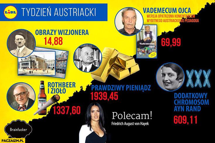 Tydzień austriacki w Lidlu przeróbka hitler fritzl