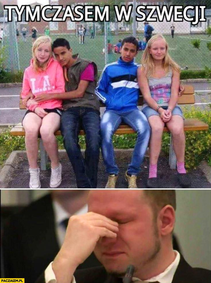 Tymczasem w Szwecji mieszane pary Breivik płacze