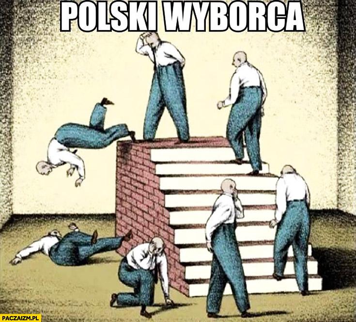 Typowy polski wyborca w kółko to samo fail