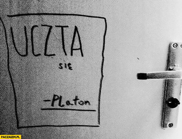 Uczta się Platon